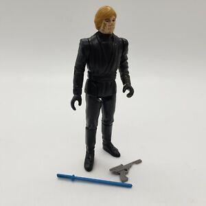 1983 Jedi Luke Complete Vintage Star Wars Kenner Figure w/ Lightsaber Blaster