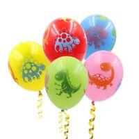 10pcs Dinosaur Balloon Wedding Party Supplies Decor Latex Balloons Kid Toys