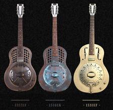 Jonathan Optional Finishes Electric Triolian Resonator Guitar