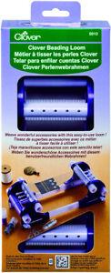 Clover Beading Loom Plastic Blue 22 x 12 x 7 cm 9910 Jewellery Making