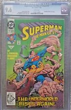 Superman The Man of Steel #17 1992 - Doomsday Cameo Last Page CGC 9.6 White Page