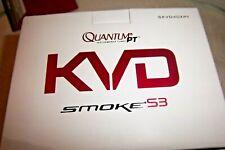 QUANTUM PT KVD SMOKE S3 SKVD40XPT 6.0:1 GEAR RATIO SPINNING REEL 9+1  BEARINGS