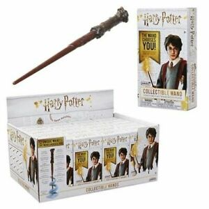 Harry Potter 4 Inch Die Cast Wand with Stand Collectible | Series 3 | Blind Box