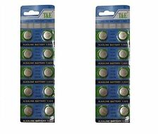 10 x Cell Button Batteries A76 AG13 LR44 357 SR44 GPA76 157 303 357 GP76A 1128MP