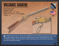 VOLCANIC CARBINE RIFLE Smith & Wesson .41 Atlas Gun Classic Firearms PHOTO CARD