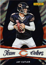 JAY CUTLER 2013 Panini National VIP Gold Pack Lava Flow Team Colors Card #4 N13