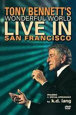 Tony Bennett's Wonderful World: Live In San Francisco k.d. lang DVD