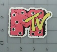 Mtv sticker logo skate cell laptop bumper vinyl decal weatherproof