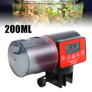 Aquarium Tank Poisson Mangeoire Distributeur Minuteur Nourriture Automatique New