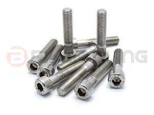10x Yamaha stainless steel cap head frame fork stanchion yoke bolts 91314-08040