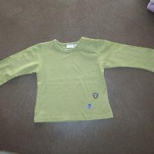 Retro Mexx T- Shirt kiwi Langarm Jersey Stickerei Gr. 80 top wie neu