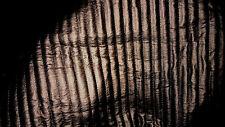 tissu matelasse scuba neoprene enduit facon skai  col bronze 50x140 cm