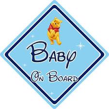 Disney Baby On Board Car Sign - Winnie The Pooh