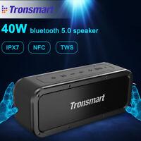 Tronsmart Element Force NFC bluetooth 5.0 Speaker TWS Portable IPX7 Subwoofer 🔥
