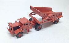 Ho 1/87 Kw Dart 50 Edt/Rear Dump Trailer - Red - Ready made Resin Model