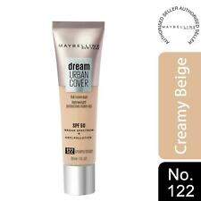 Maybelline Dream Urban Cover SPF50 All-In-One Protective Makeup, 122 CreamyBeige