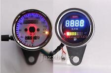 Speedometer + Tachometer Fuel Gauge For Yamaha Honda Harley Kawasak Suzuki BMW