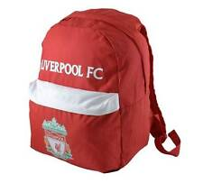 LIVERPOOL FOOTBALL CLUB RED CREST BACKPACK - FREE 1ST CLASS DELIVERY