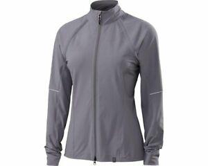 Specialized Women's Deflect Hybrid Cycling Jacket True Gray - Medium