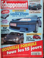 ECHAPPEMENT N°318 (avril 1995) Fiat Barchetta - Laguna Biturbo - 3 Golf TDi