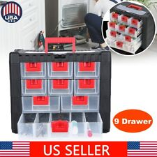 Drawer Tool Box Craft Storage Case Household Clutter Organizer With Handle