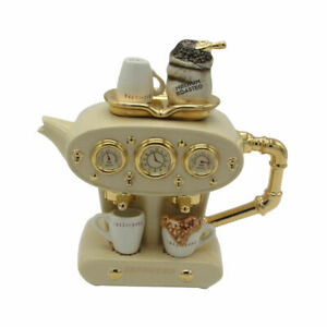 Double Espresso Teapot Large Size Ceramic Inspirations