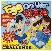 Egg On Your Face Yer Fun Party Board Game Novelty Family Kids Children