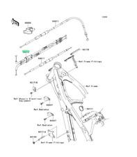 kawasaki, cable-throttle 54012-0119