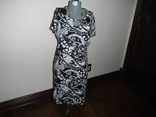 "Kim Rogers Career ""Raymore"" Size M Dress With Keyhole Neck NWT"