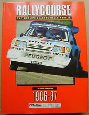 Rallycourse Annual 1986-87  5th Rallycourse Annual good condition with DW