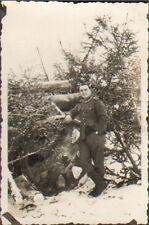 PHOTO SOLDAT ALLEMAND EN UNIFORME