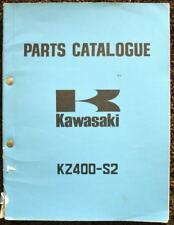 KAWASAKI RANGE 1975 MOTORCYCLE ILLUSTRATED PARTS LIST & SUPPLEMENT