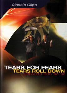 Tears For Rouleau Bas Greatest Succès '82 -'92 (2003) DVD Neuf / Scellé