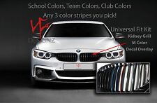 3sets of 3color Vinyl Decal Grill Sticker Strip Guaranteed 1 set FITS your BMW