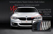 3 Color Grill Vinyl Decal Sticker Stripe FITS BMW M3 M5 E36 E46 E60 E90 E92