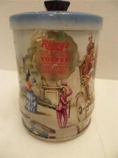 Vintage Riley's Toffee Biscuit tin Riley's Brothers Halifax England Limited Rare