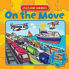 Jigsaw Books - On the Mover: 5 Jigsaw Puzzles (Jigsaw Boards), New Books