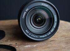 Objectif Canon EF-S 15-85mm IS USM pr EOS 750D 650D 600D 70D 60D 50D 7D (EFS)