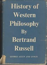 HISTORY OF WESTERN PHILOSOPHY by BERTRAND RUSSELL hc/dj 1961 sgd NSW PREMIERS