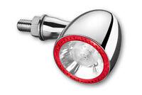 KELLERMANN Blinker Bullet 1000 DF LED Chrom 3in1 Chopper Bobber