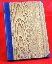 Schiller - Wilhelm Tell. Verlag Anton und Co. Berlin - privater Bucheinband Holz