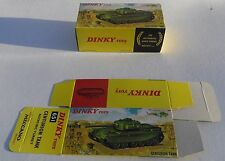 High Quality Reproduction Dinky Military Boxes - 651 Centurion Tank