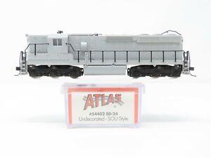 N Scale Atlas 54402 Undecorated EMD SD24 SOU Style Diesel Locomotive No#