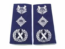 Singapore spf police commissioner rank epaulettes service dress uniform rare sup