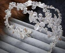 Beaded Alice Band Crystal Da Sposa Nozze Di Diamante Accessori Copricapo 1 PC