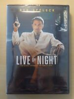 LIVE BY NIGHT ♦ DVD NEUF SOUS BLISTER ♦