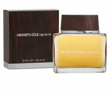 Signature for Men Kenneth Cole After Shave Splash ( Glass ) 3.4 oz - Rare in Box