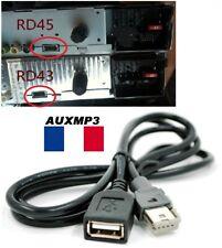 Cable USB Peugeot Citroen Autorradio RT6 RD5 RD9 RD45 RD43 USB Aux PSA - Pro