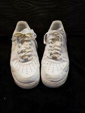 Used white Nike Air Force One