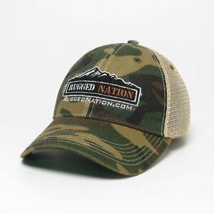 Rugged Nation Old Favorite Trucker Hat by Legacy Resort Wear